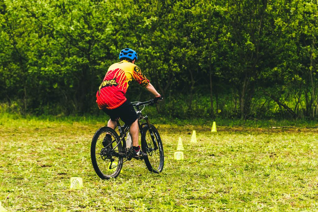 Mountainbike Techniktraining